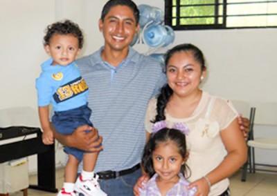 Toño Alvarado Family