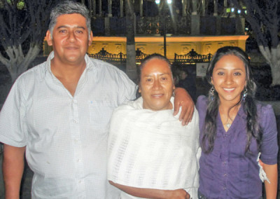 Ciro Alvarado Family
