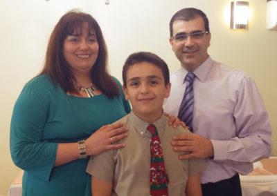 Pedro Donzé family